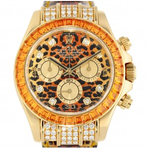 DAYTONA 116598SACO LEOPARD IN YELLOW GOLD 40MM YEAR 2005 W3853 116598SACO-20