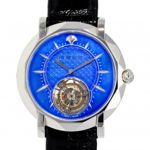 MASTERGRAFF ULTRA FLAT TOURBILLON MGU43PT 43MM LIMITED EDITION 50 PIECES W3819 MGU43PT-20
