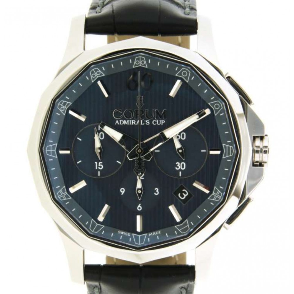 CORUM ADMIRALS CUP, 984.101.20/0F01 AB10 IN STEEL, 42MM W860 984.101.20/0F01 AB10-01