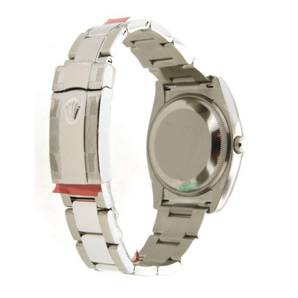 DATE 115234 IN STEEL AND DIAMONDS, 34MM W641 115234-01