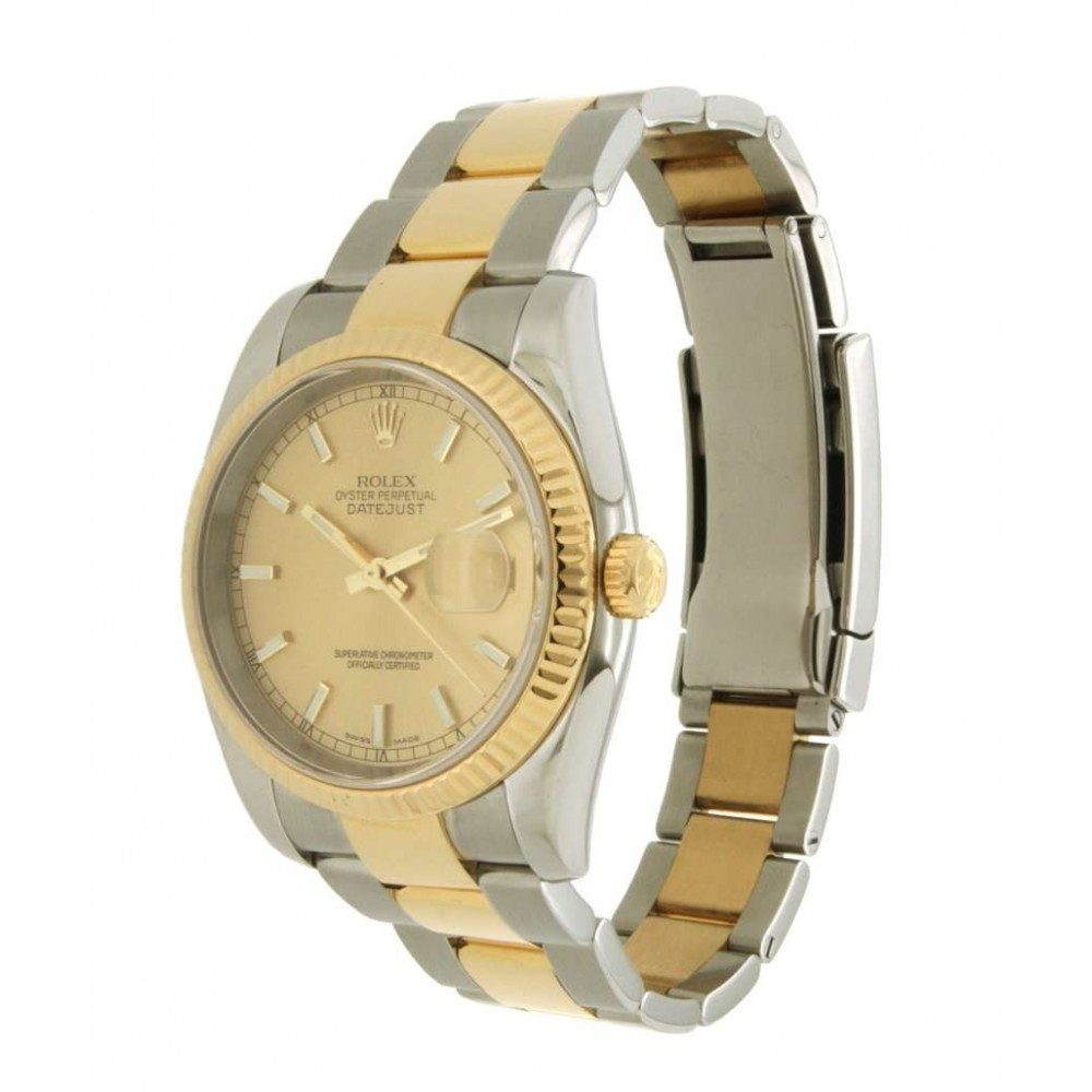 DATEJUST 36 116233 STEEL YELLOW GOLD 36MM W830 116233-01