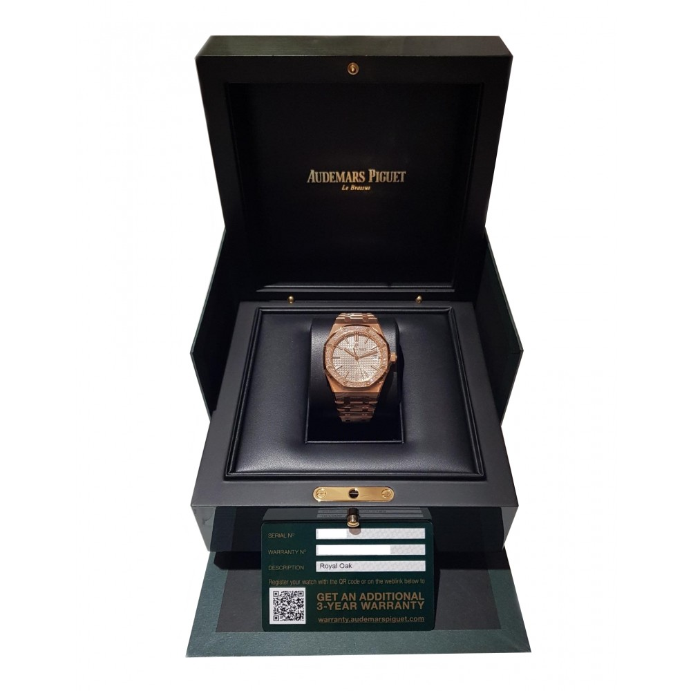ROYAL OAK 15451OR.ZZ.1256.OR.02 ROSE GOLD 37MM W2742 15451OR.ZZ.1256.OR.02-01