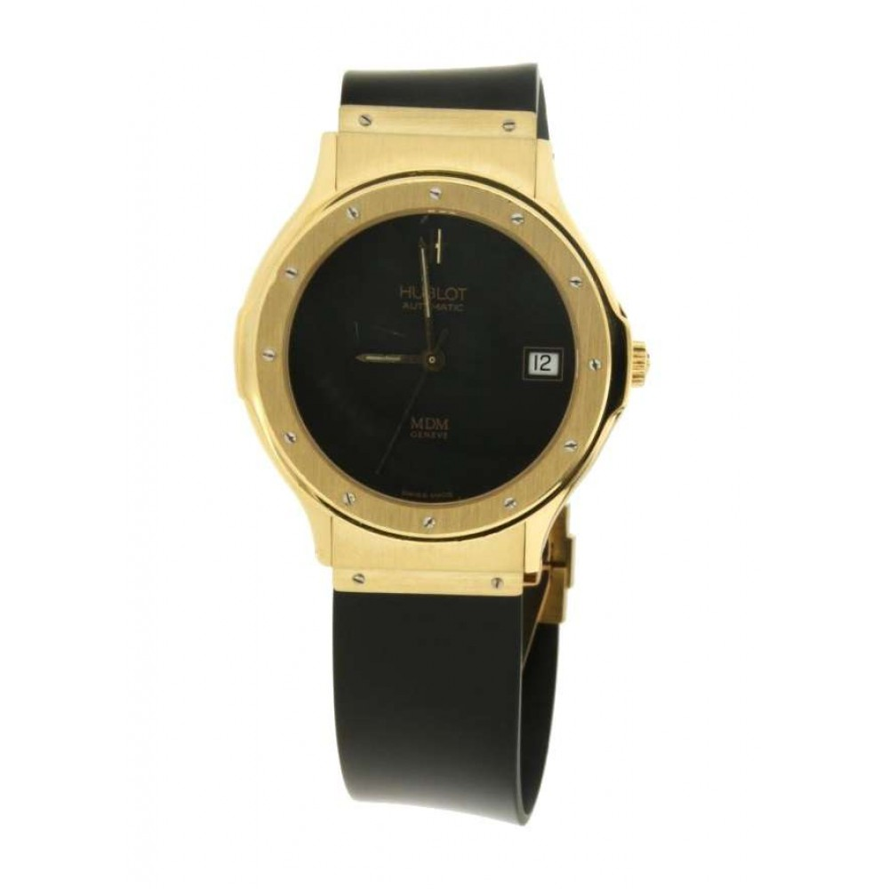 HUBLOT CLASSIC IN YELLOW GOLD, 36MM AUTOMATIC W777 1581.03.00-02