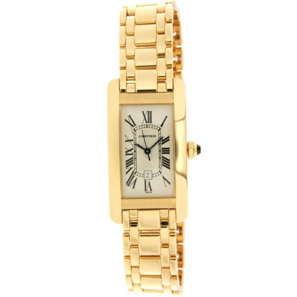 TANK AMERICAINE 1725 IN YELLOW GOLD 18KT W817 1725-06
