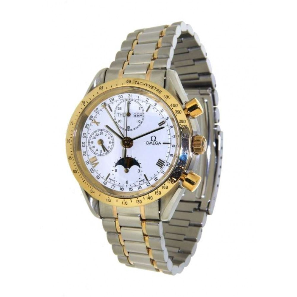 ANNUAL CALENDER 54060491 STEEL YELLOW GOLD 38MM W447 54060491-04
