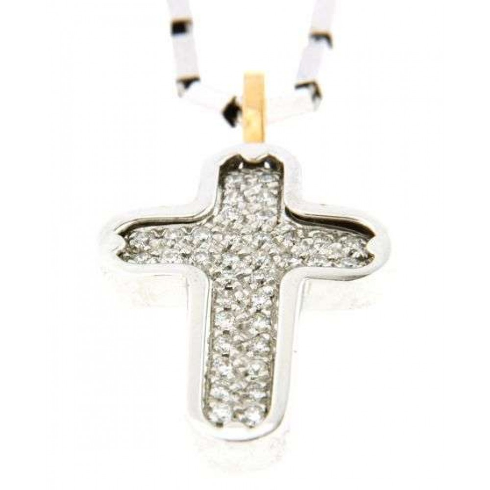 CHIMENTO CROSS NECKLACE 1G02909B17500 J420-01