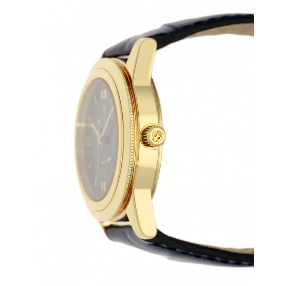 GP90 1120 YELLOW GOLD POWER RESERVE AUTOMATIC BLUE DIAL 35MM W4855 1120-01