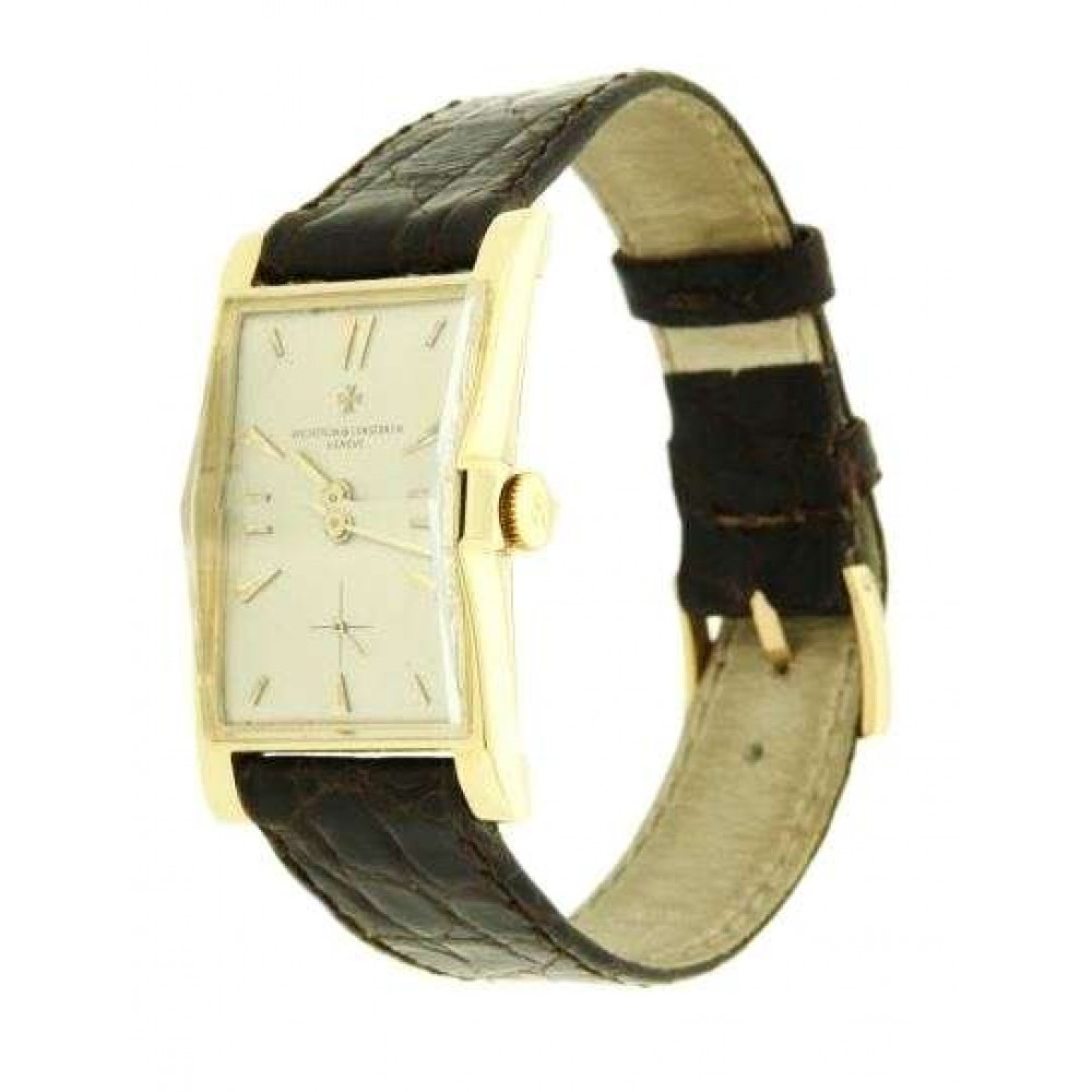 VACHERON COSTANTIN YELLOW GOLD 24 x38 MM REF 4591 VINTAGE 1955 W238 4591-07