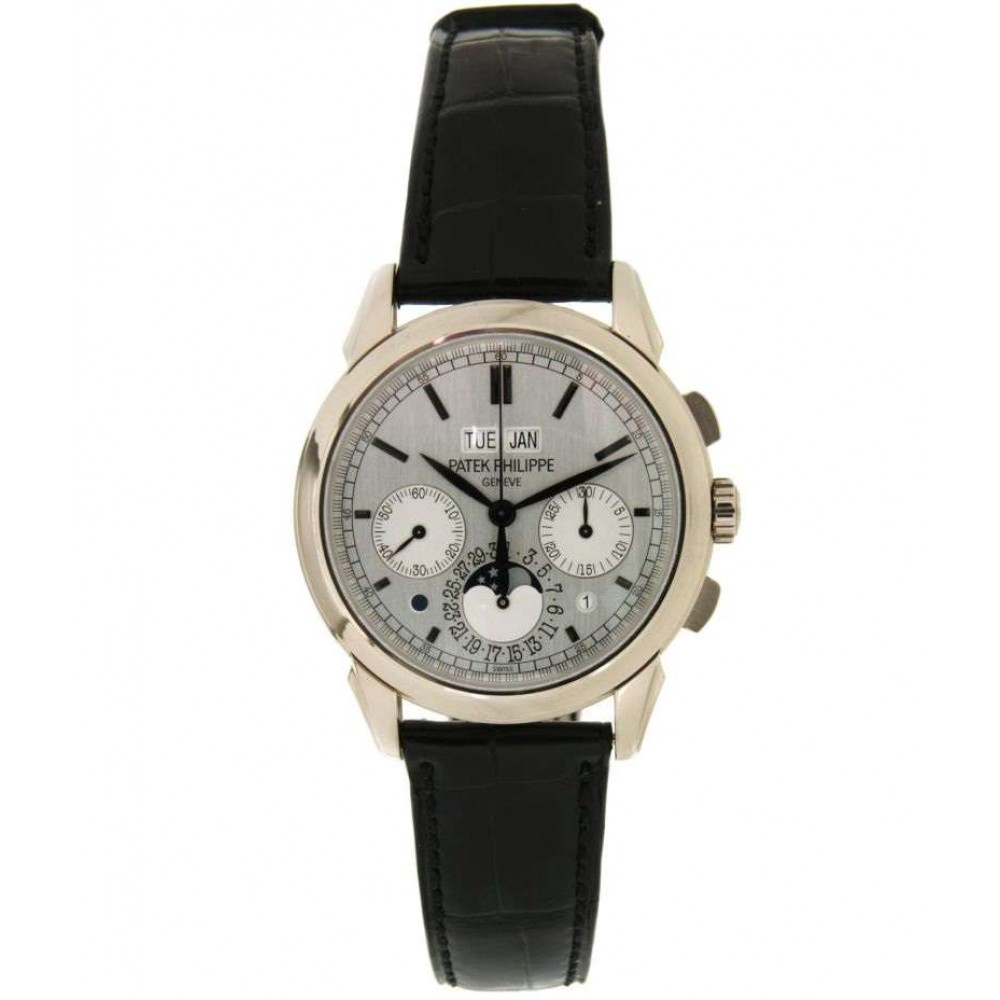PERPETUAL CALENDER CHRONO MOON FASE 5270G IN WHITE GOLD, 41MM W782 5270G-01