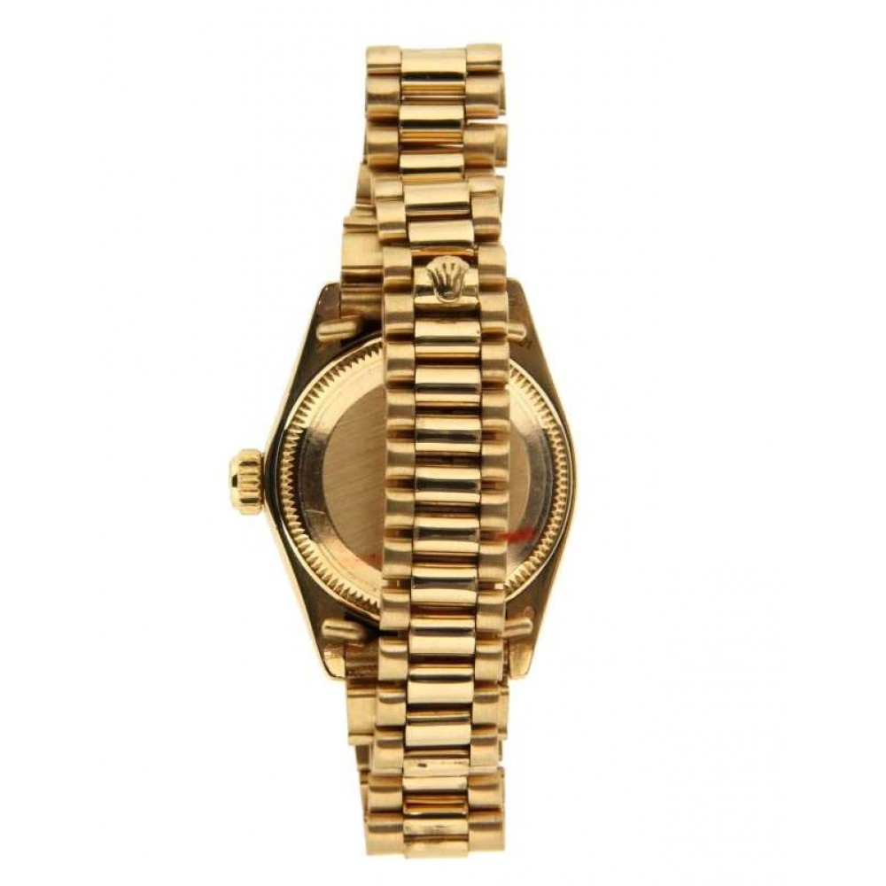 DATEJUST 26 LADY 6917 IN YELLOW GOLD, 26MM W718 6917-01