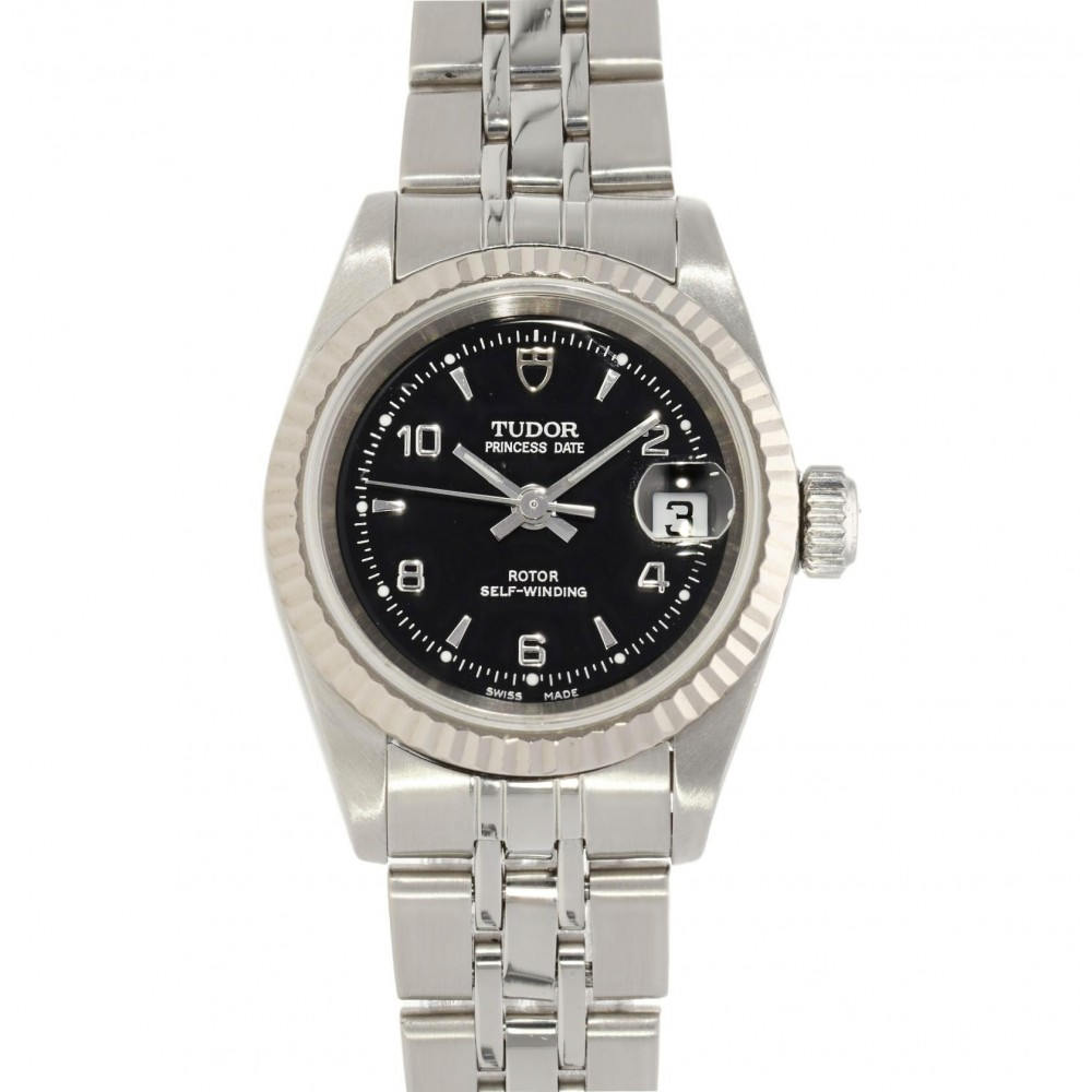 PRINCESS DATE 92414 STAINLESS STEEL 26MM W4033 92414-02