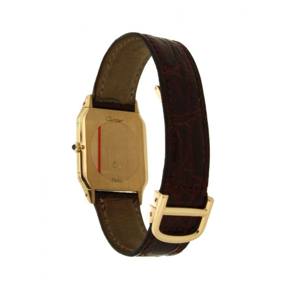DUMONT IN YELLOW GOLD W529 25071404-07