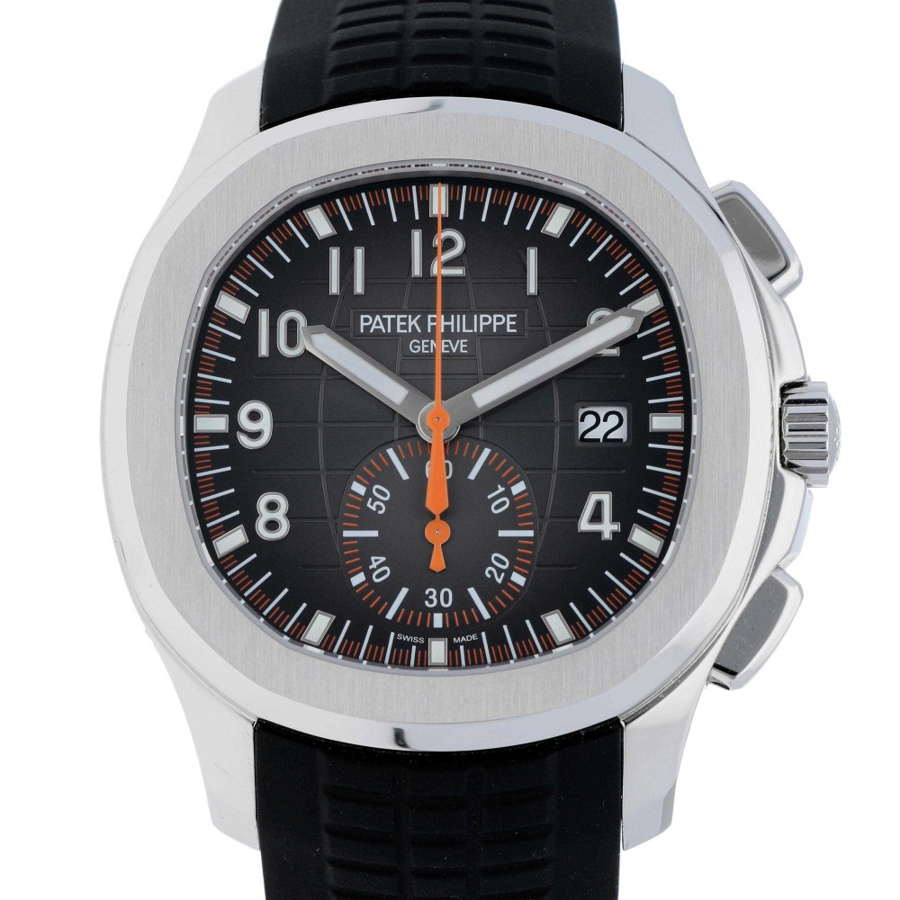 AQUANAUT CHRONOGRAPH 5968A STEEL RUBBER 42.2MM W3081 5968A-04