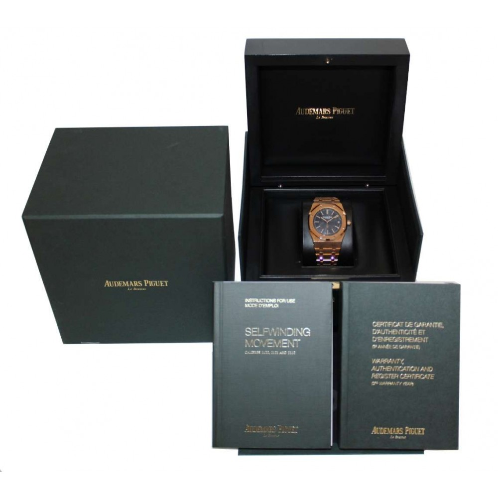 ROYAL OAK 	15202OR.OO.1240OR.01 AUTOMATIC, 39mm W1177 15202OR.OO.1240OR.01-01