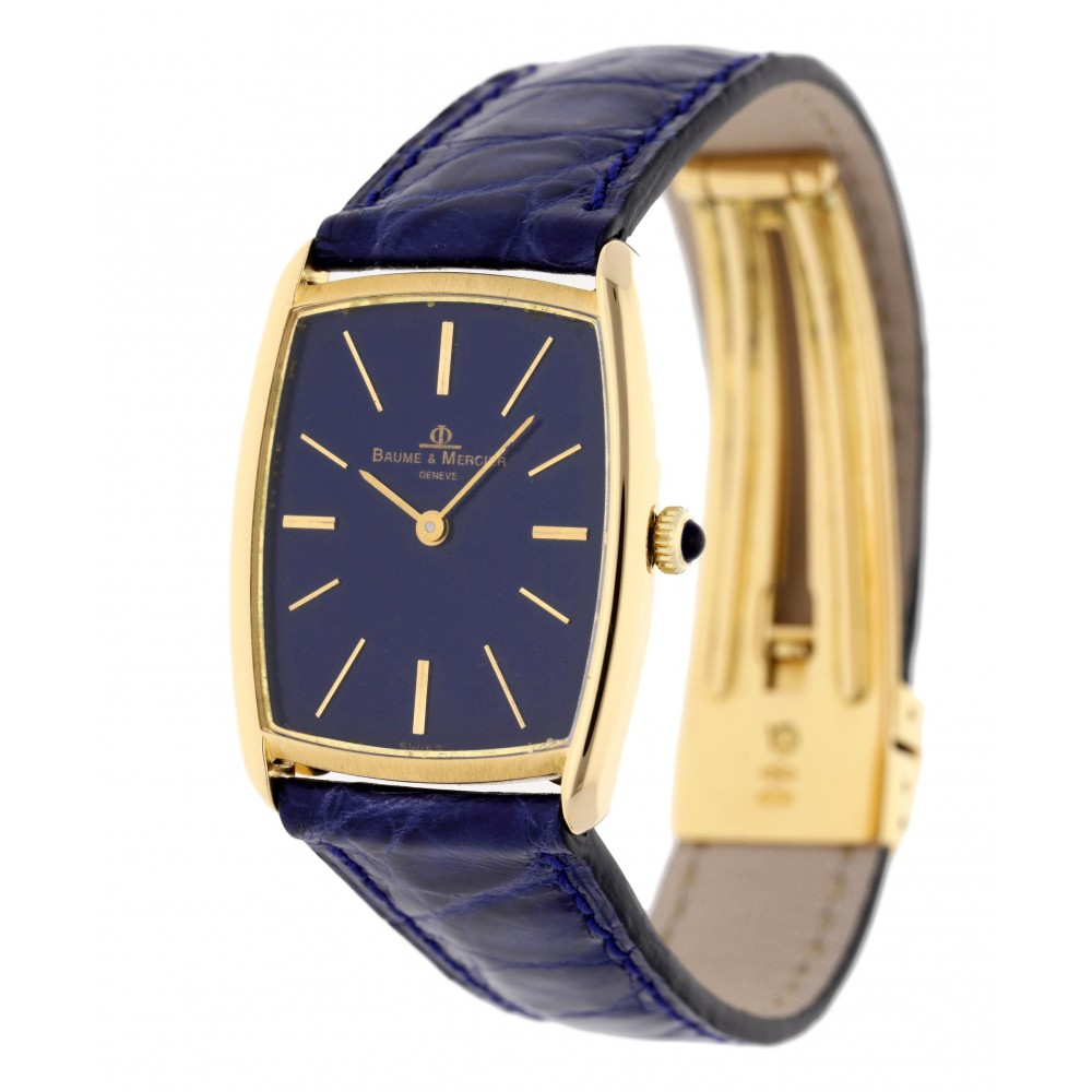 BandM LADY YELLOW GOLD LEATHER 29x32MM W3184 .-04