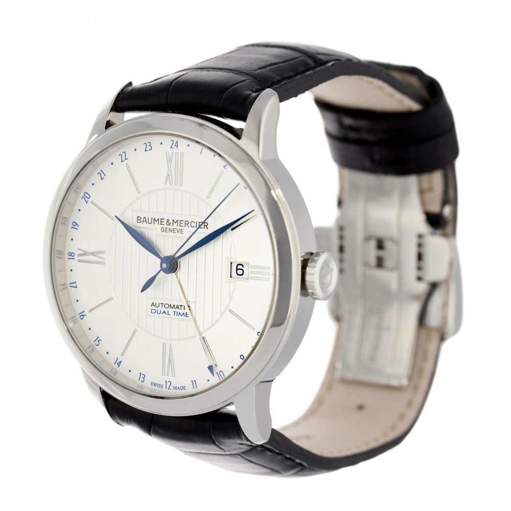 CLASSIMA DUAL TIME M0A10272 MOA10272 STAINLESS STEEL 40MM W3749 M0A10272 MOA10272-04