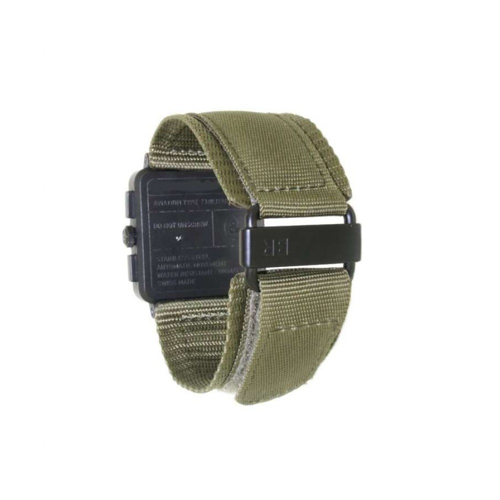 """AVIATION TYPE """"MILITARY SPECIAL"""" IN STEEL AND CAUCCIU, 42MM W615 BR03-94-07"""