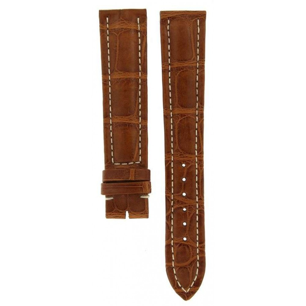 BREITLING BROWN CROCODILE LEATHER STRAP 20MM/18MM ACC920-02