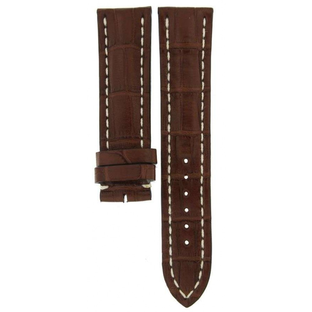 BREITLING BROWN CROCODILE LEATHER STRAP 739P 22MM/20MM ACC31 739P-03