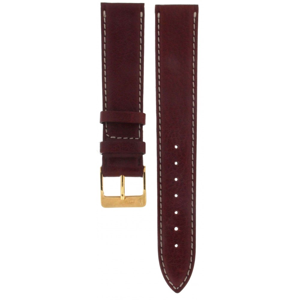 BROS BORDEAUX LEATHER STRAP 18MM ACC411-01