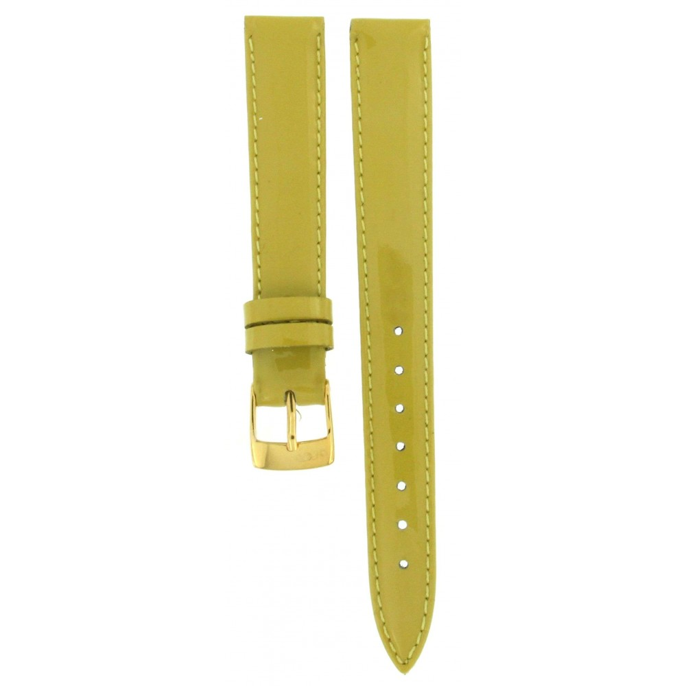 BROS BRIGHT GREEN LEATHER STRAP 14MM ACC335-01