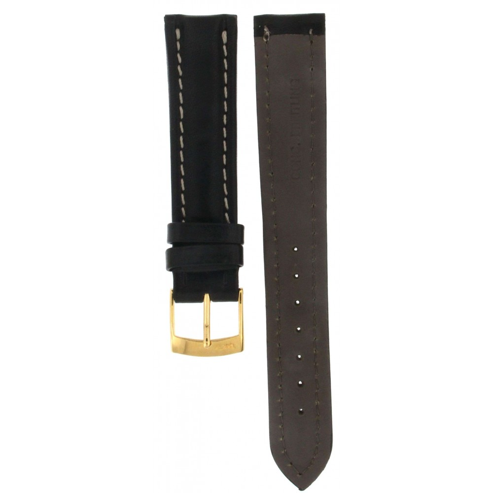 BROS BLACK CALF LEATHER FOR BREITLING MODELS 18MM ACC304-01