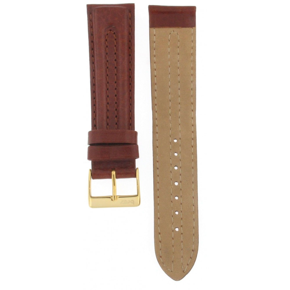 BROS BROWN HEAVY CALF STRAP 20MM ACC227-01