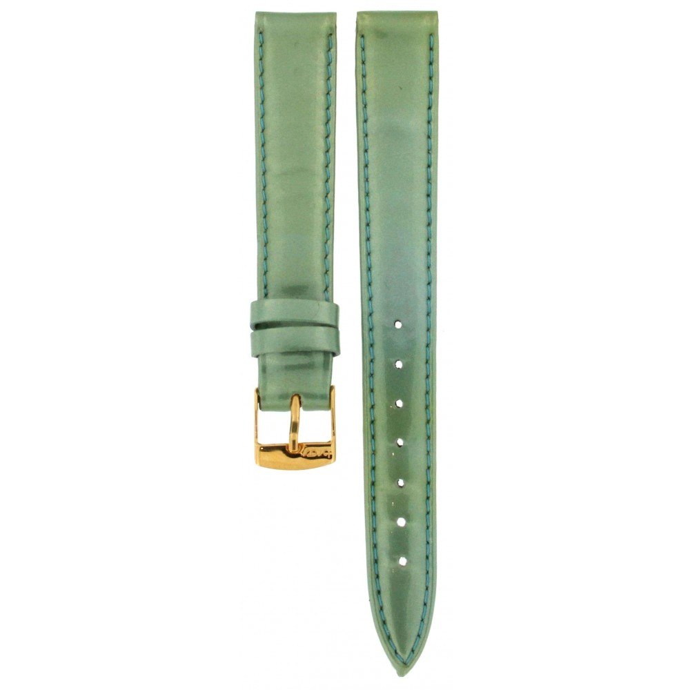 BROS SHINY GREEN LEATHER STRAP 14MM ACC341-02