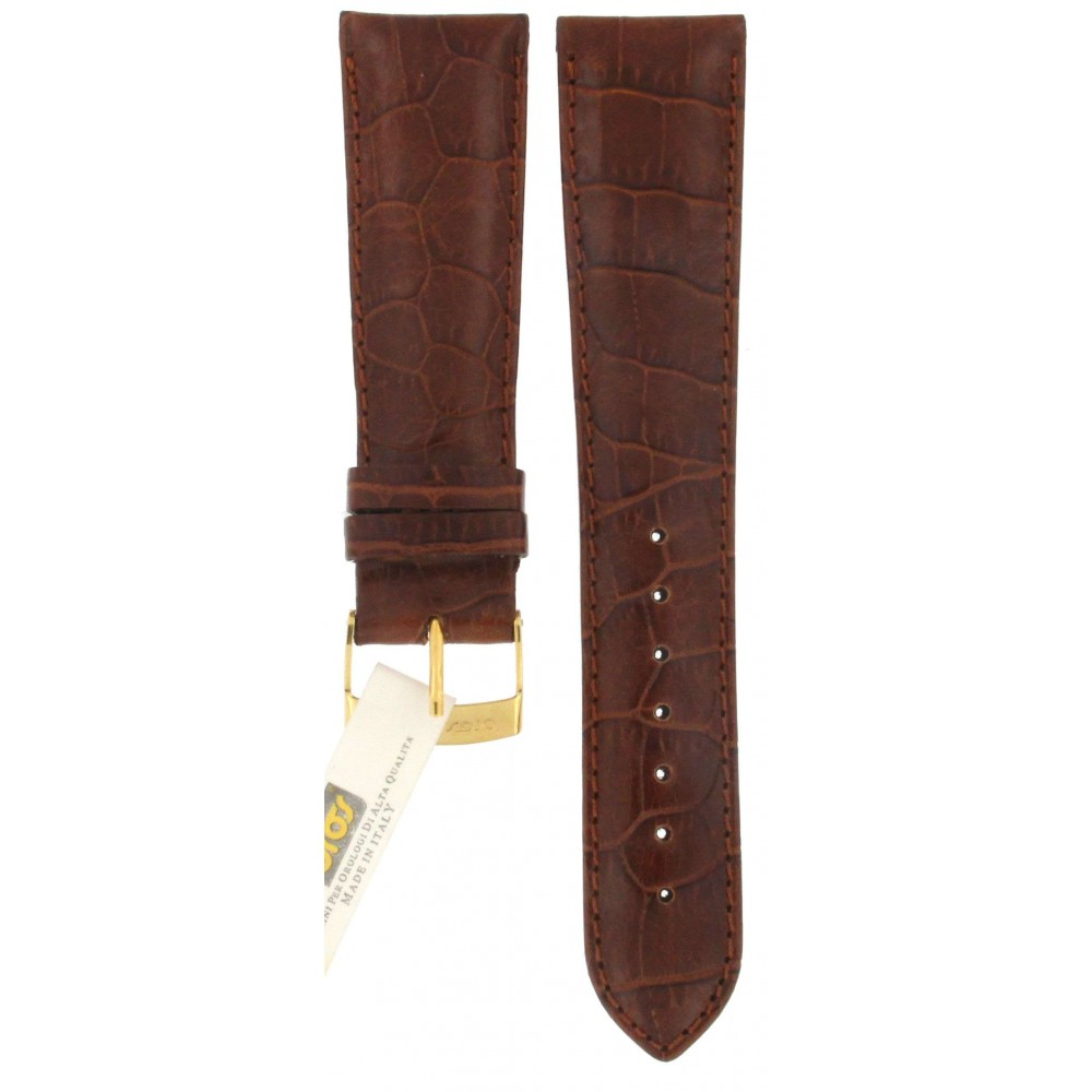 BROS BROWN LEATHER STRAP 22MM ACC371-01