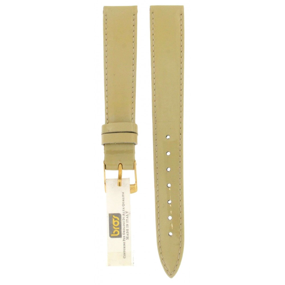 BROS SHINY LIGHT GREEN LEATHER STRAP 14MM ACC319-01