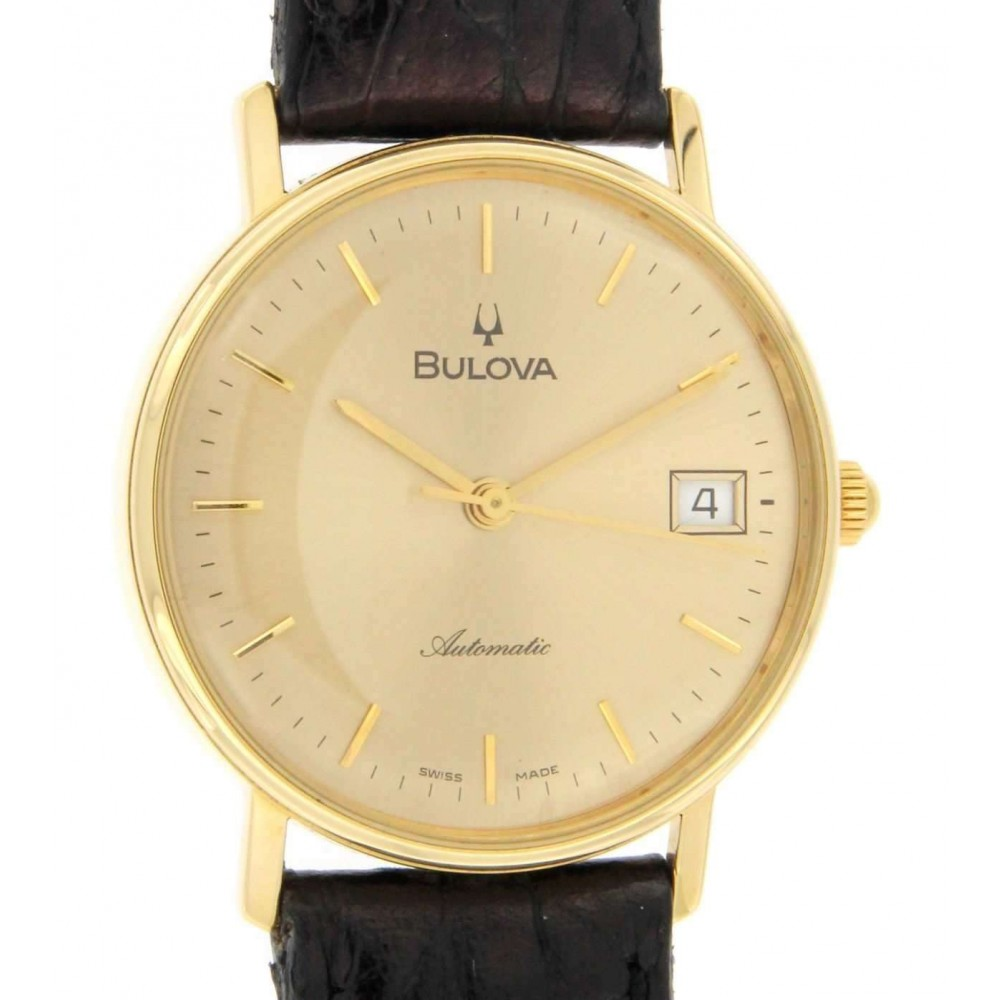 BULOVA IN YELLOW GOLD W1194 EG 756-01