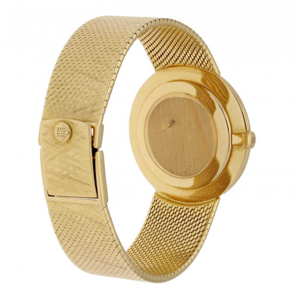 CALATRAVA 3468/5 YELLOW GOLD 33MM W513 3468/5-010