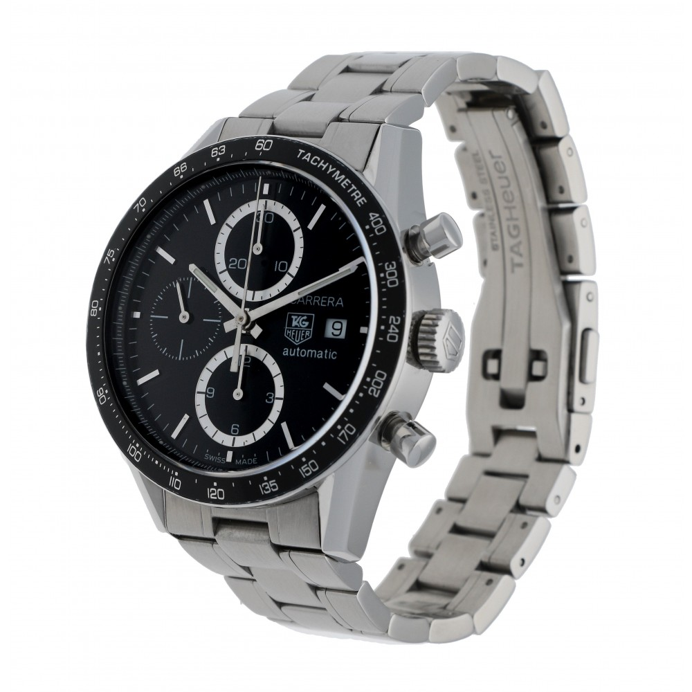 CARRERA CHRONOGRAPH CV2010 STEEL 41MM W3090 CV2010-02
