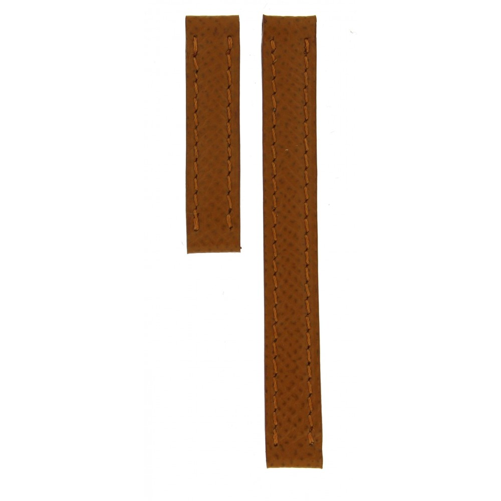 CARTIER CAMEL BROWN LEATHER STRAP 10MM/10MM ACC907-01