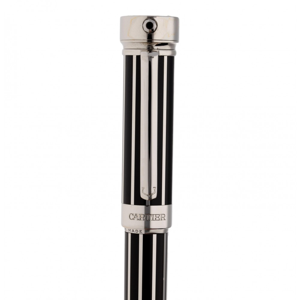 CARTIER PLATINUM LIMITED EDITION FOUNTAIN PEN WATCH W3376 .-03