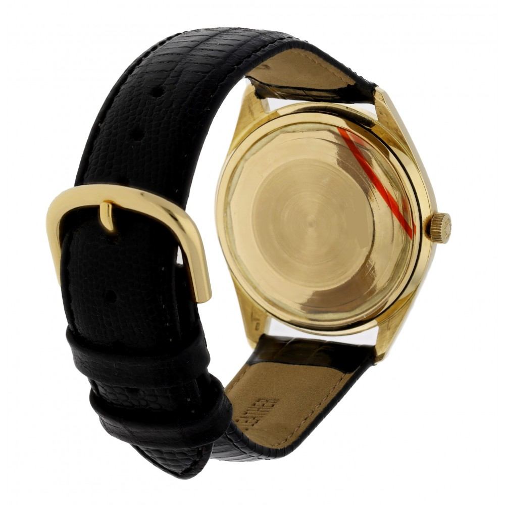 ADMIRAL AUTOMATIC YELLOW GOLD LEATHER W3412 15/153466-03