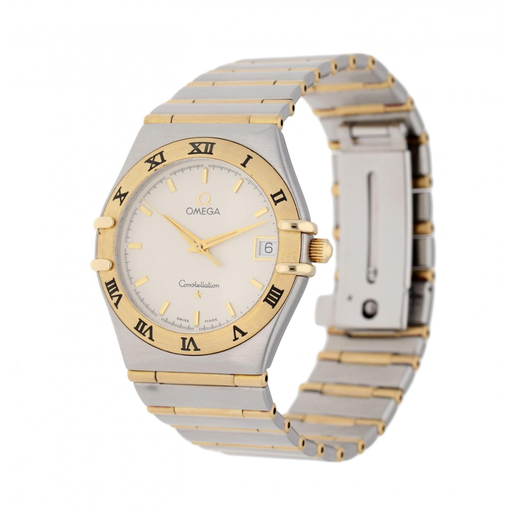 CONSTELLATION 3961201 STAINLESS STEEL YELLOW GOLD 33MM W3415 3961201-01