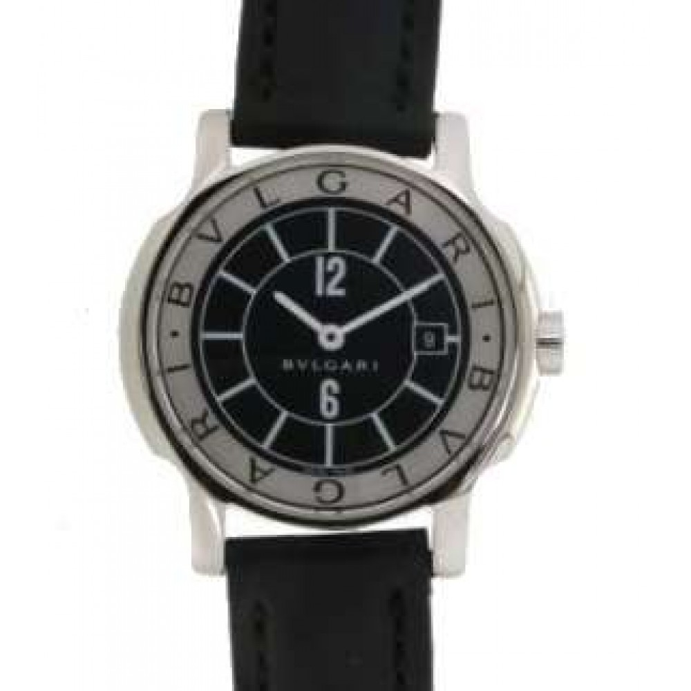 SOLO TEMPO D61031 STEEL LEATHER 28MM W722 D61031-01