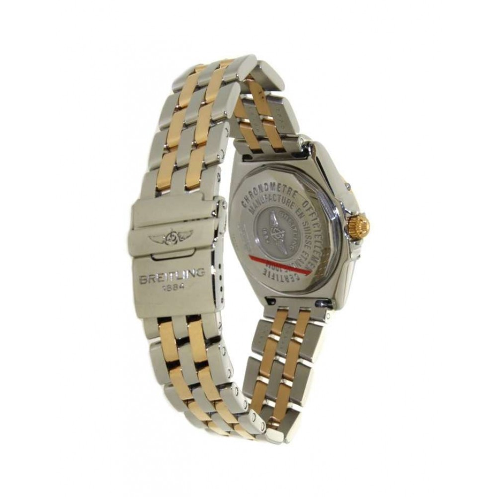 WING LADY D67350 IN YELLOW GOLD AND STEEL, 31MM W738 D67350-06