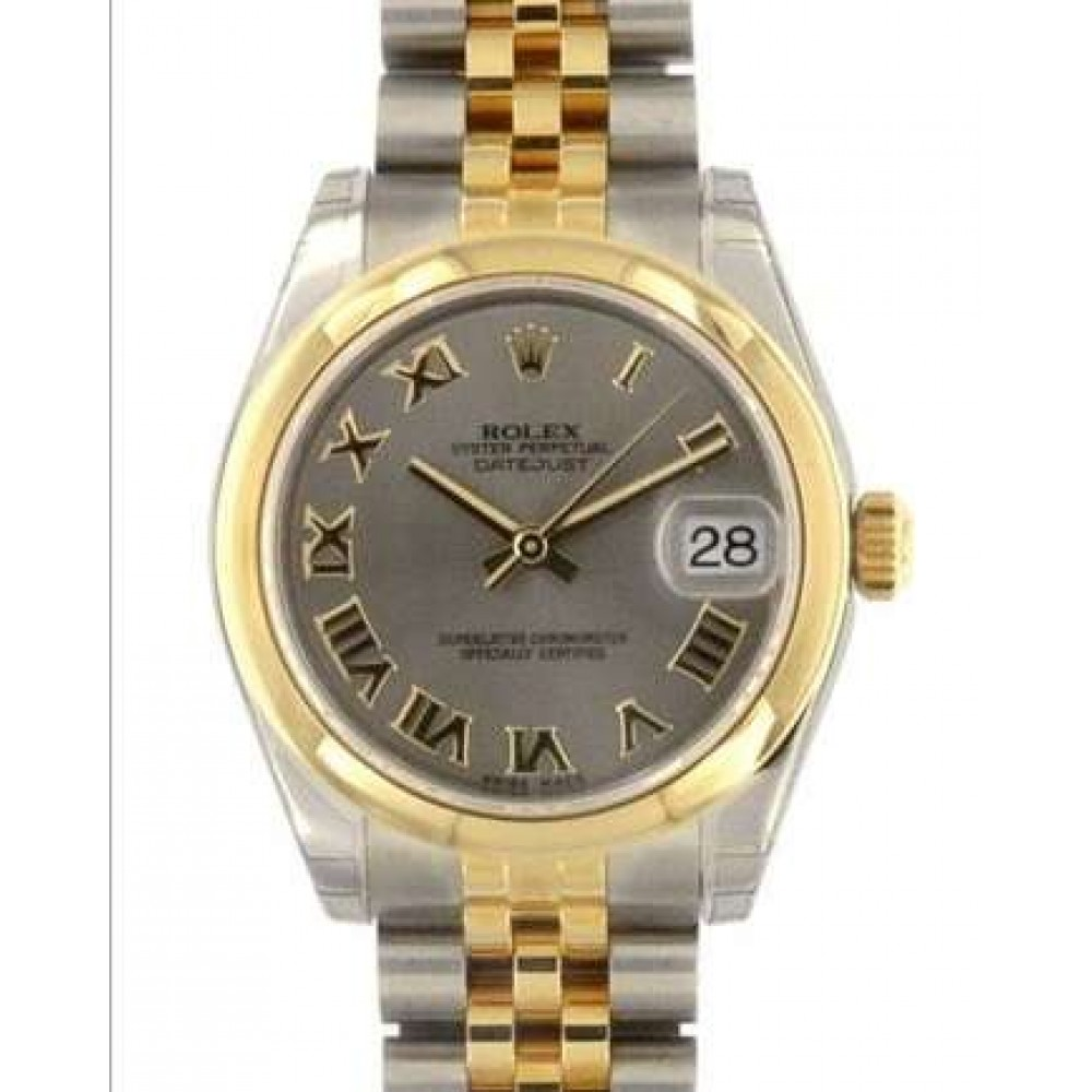 DATEJUST 31 178243 STEEL YELLOW GOLD 31MM W963 178243-010