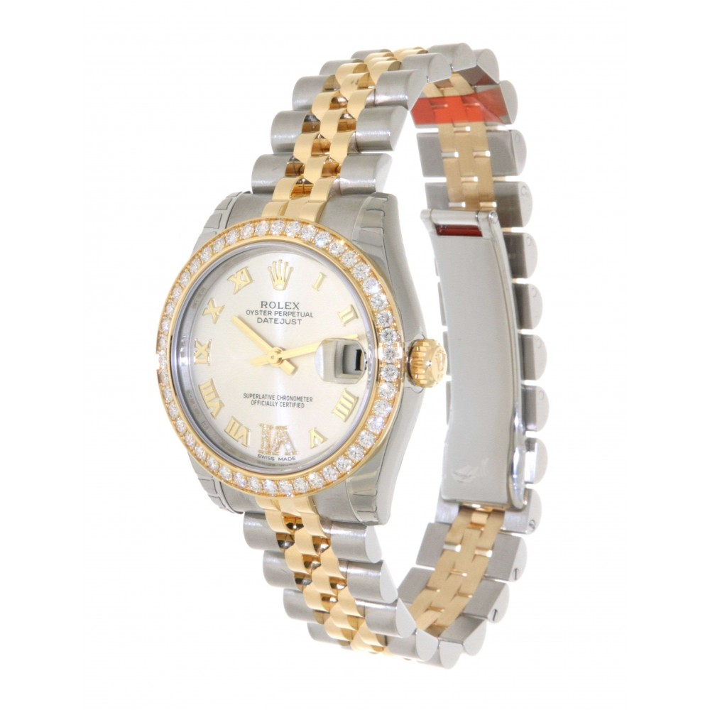 DATEJUST 31 178383 IN GOLD AND STEEL WITH DIAMOND, 31MM W1161 178383-05