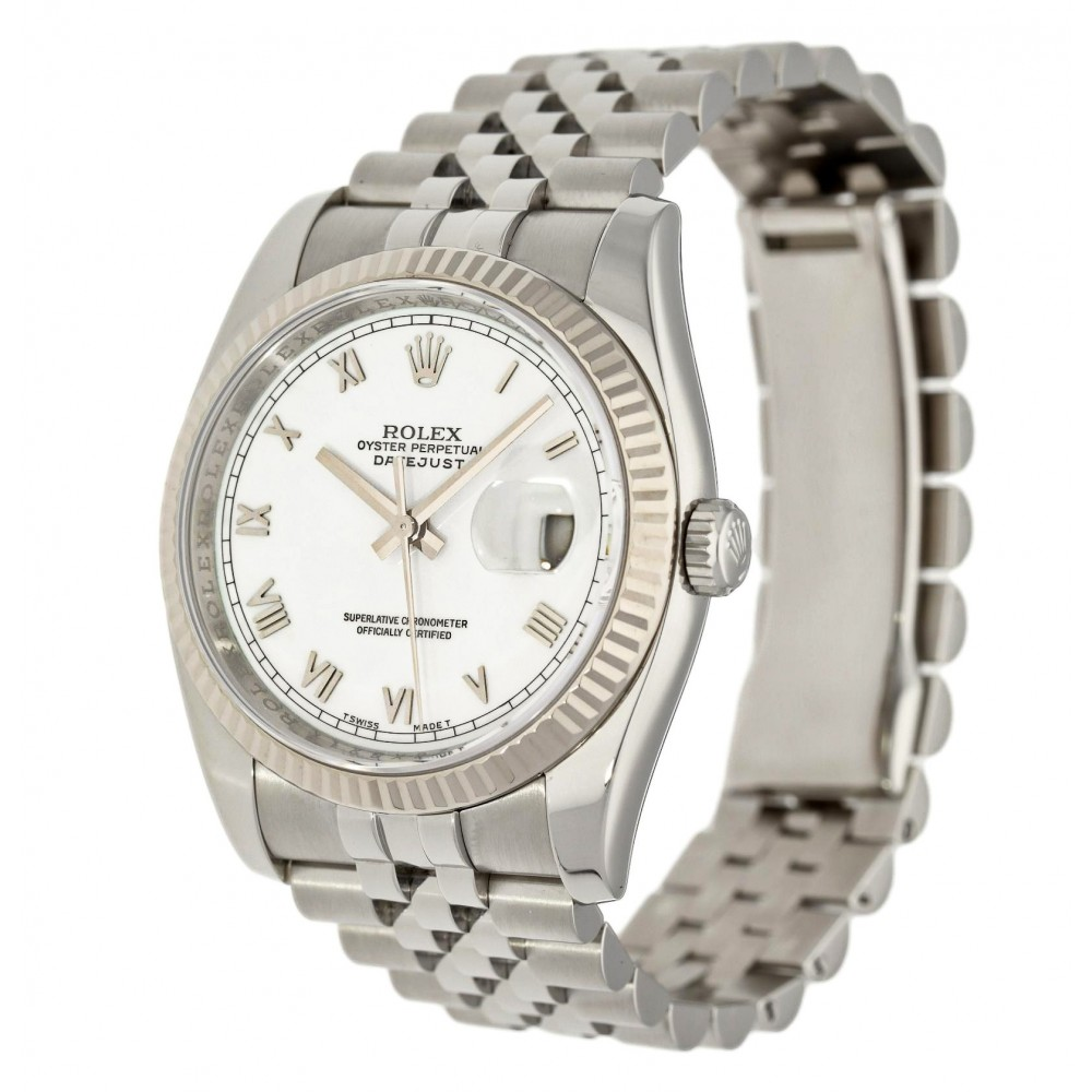 DATEJUST 116234 STAINLESS STEEL 36MM YEAR 2013 W5186 116234-03