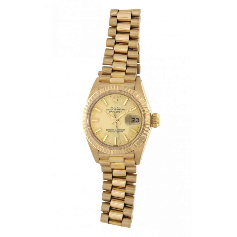 DATEJUST 26 LADY 6917 YELLOW GOLD 26MM W2042 6917-01