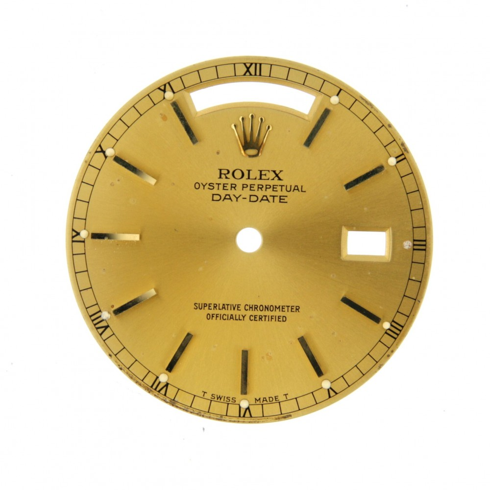 ROLEX DAY-DATE 36MM GOLDEN DIAL ACC2629 18958-02