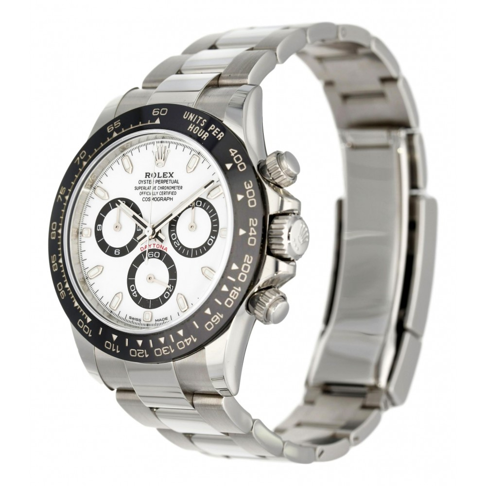 DAYTONA 116500LN STAILESS STEEL CERAMIC BEZEL 40MM W3745 116500LN-03