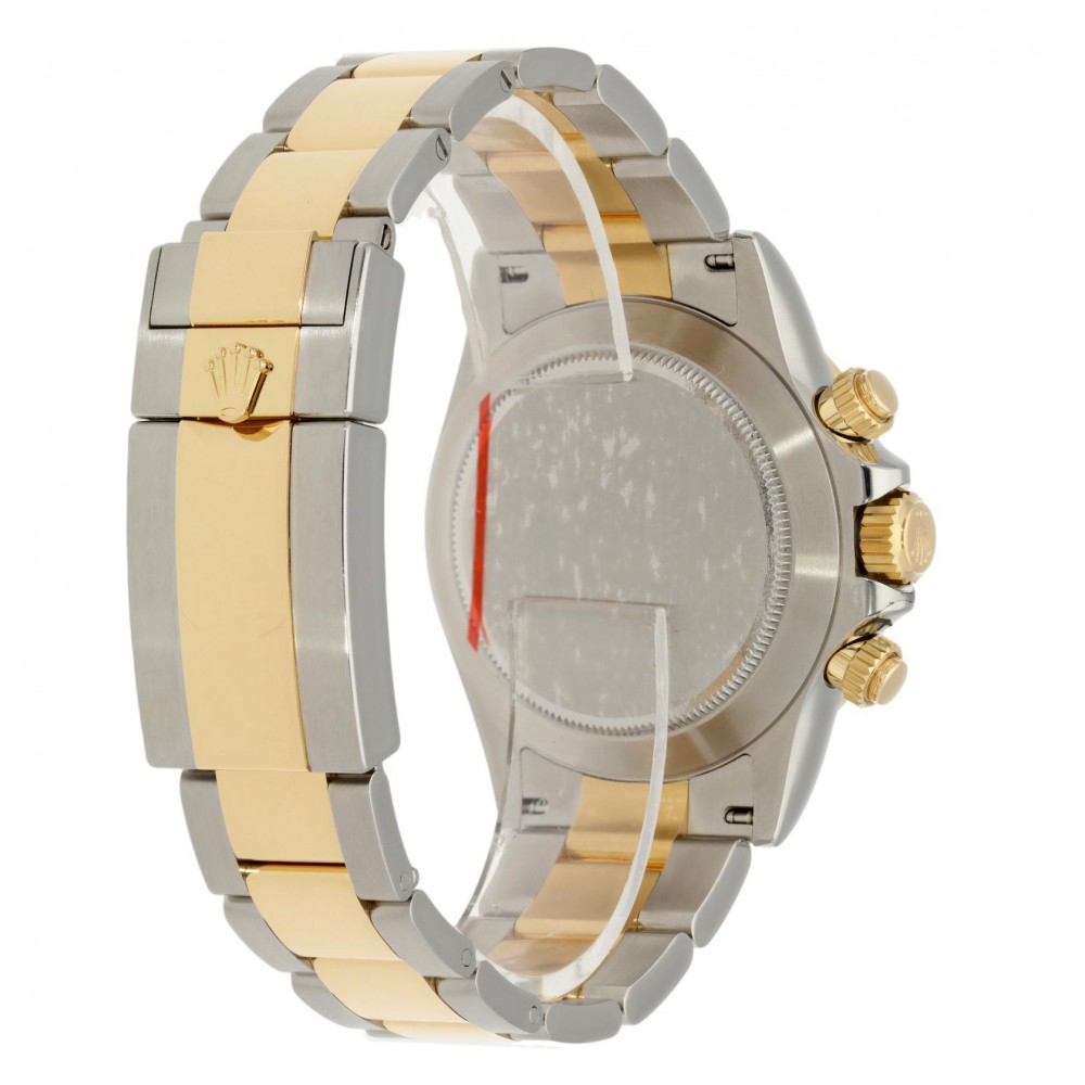DAYTONA 116503 STAINLESS STEEL YELLOW GOLD 40MM MOTHER OF PEARL DIAL NEW 2021 W5140 116503-03