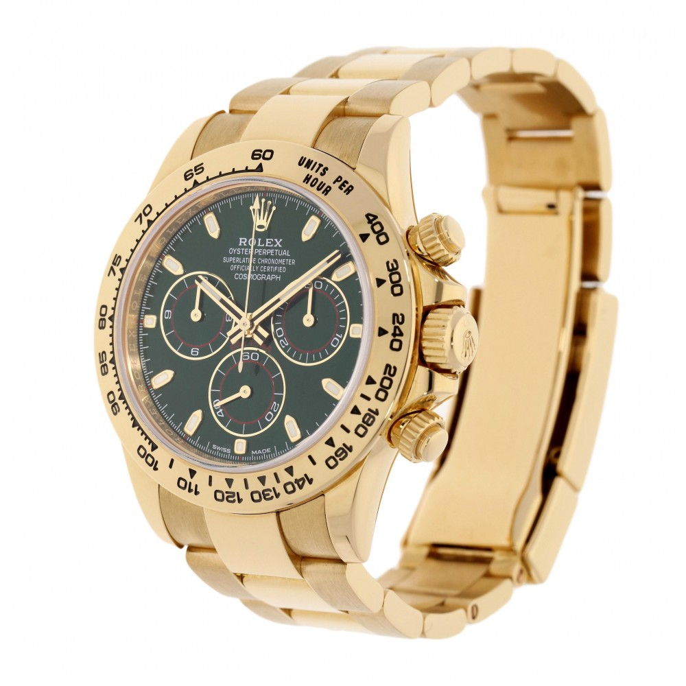 DAYTONA 116508 YELLOW GOLD 40MM W3222 116508-08