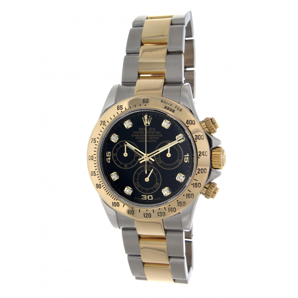 DAYTONA 116523 STEEL YELLOW GOLD 40MM W2258 116523-05