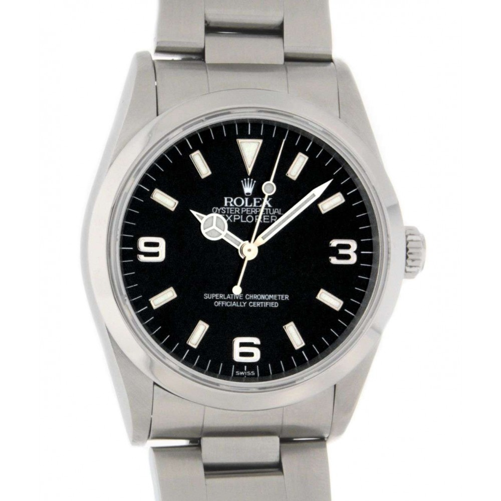 EXPLORER I 14270 STEEL 36MM W987 14270-09