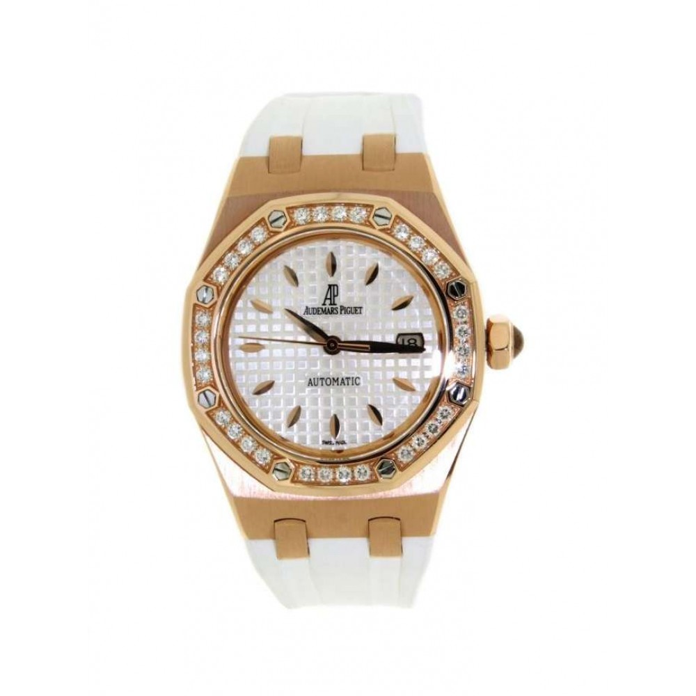 ROYAL OAK LADY 77321OR.ZZ.D010CA.01 RED GOLD CAUCCIU W761 77321OR.ZZ.D010CA.01-06